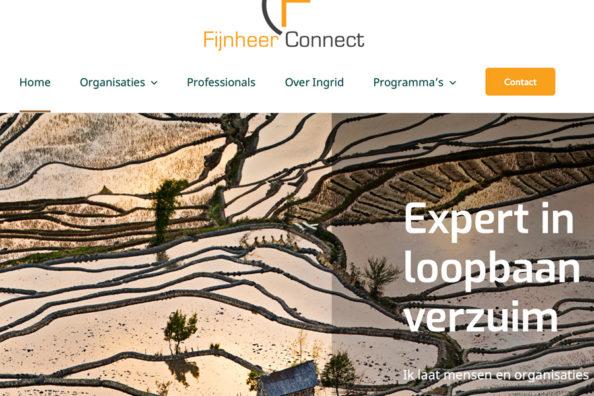 Webdesign FijnheerConnect
